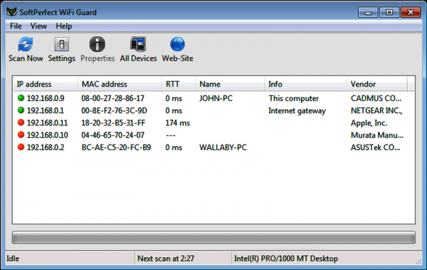 SoftPerfect WiFi Guard 2.1.4 + License Crack With Keygen 2021 Latest