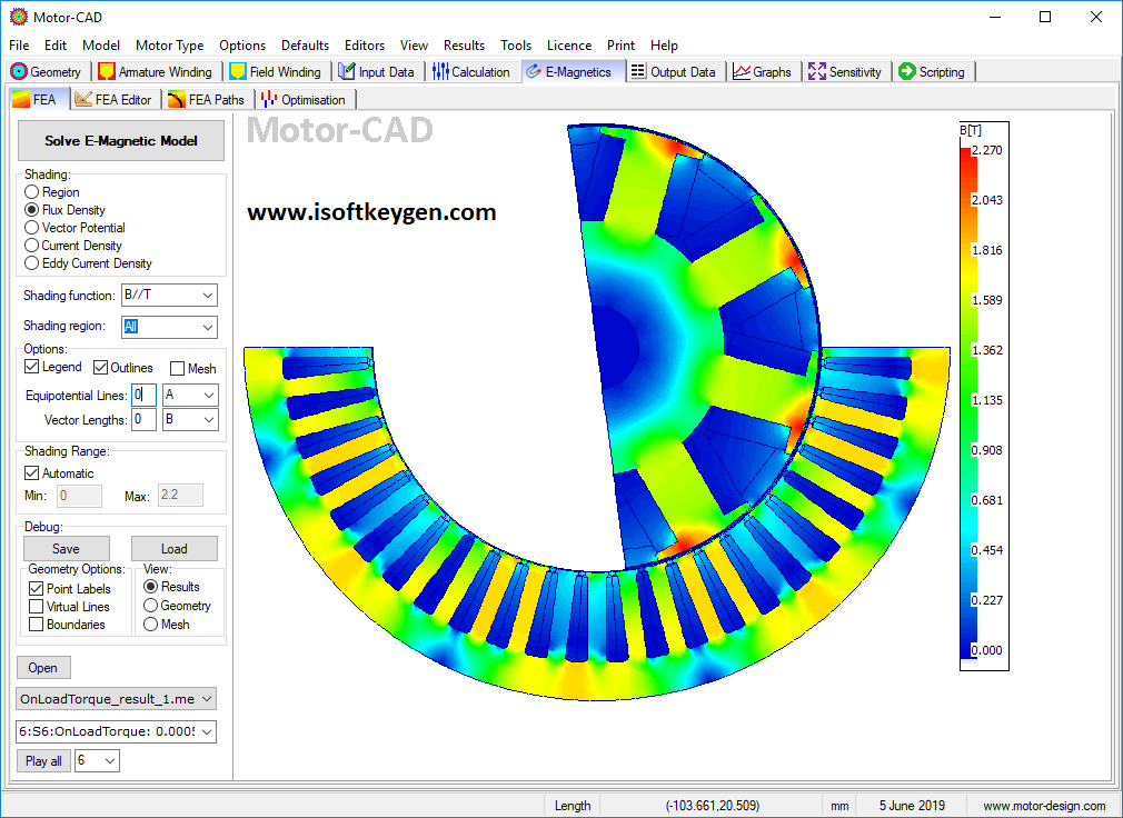 ANSYS Motor-CAD 14.1.2 + Crack